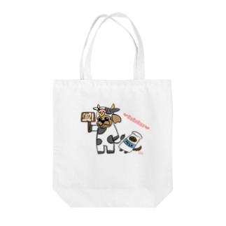 ババラー限定モチ&ハッピー Tote bags