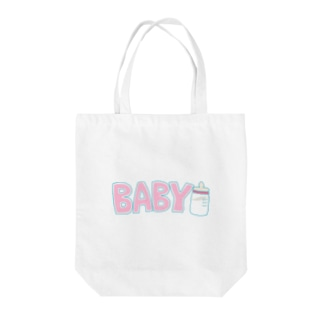 BABY ピンク Tote bags