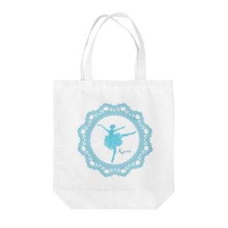 アラベスク Tote bags