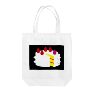 バースデーケーキ Tote bags