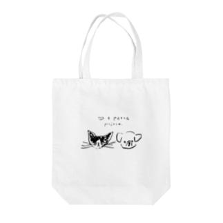 ののやさんの♡ & PEACE Tote bags