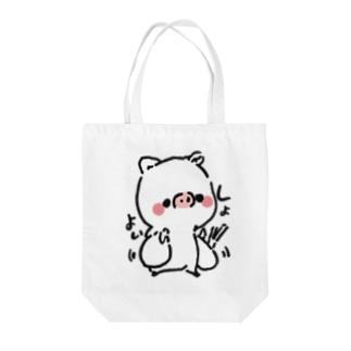 くぅちゃんのお買い物バック Tote bags