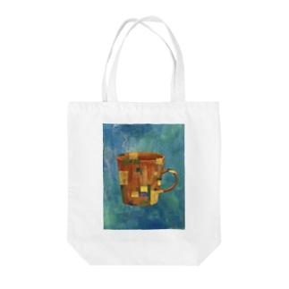 「日常の中の異物」 Tote bags