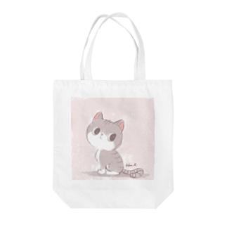 Artworksのみーちゃん Tote bags