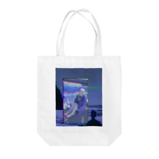 粗大ゴミちゃん Tote bags