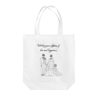 Wishing you a lifetime of love and happiness. Tote bags