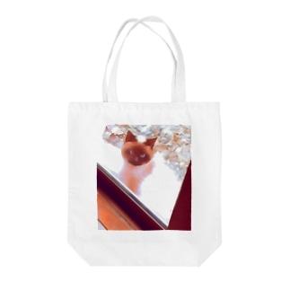 シャム猫ファンタジー Tote bags