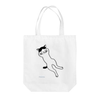 ひるね猫 Tote bags