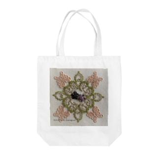 ビクトリアン庭園 Tote bags