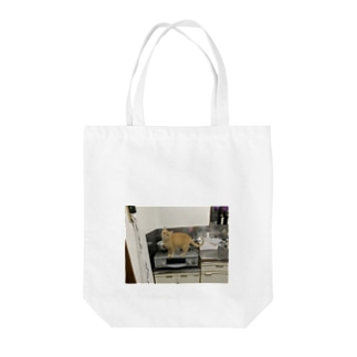 JIRO THE GINGER CAT Tote bags