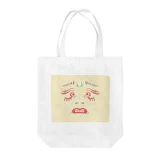 んぎぎ・・・ Tote bags