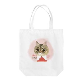 マリエちゃんドアップ Tote bags