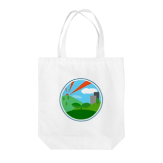 The Planet Tote bags
