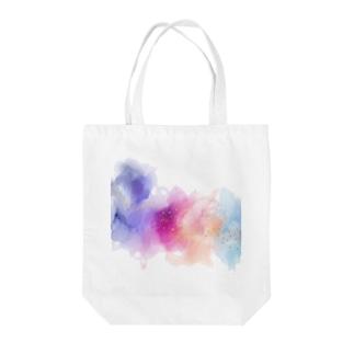 アルコールインクアート風 Tote bags