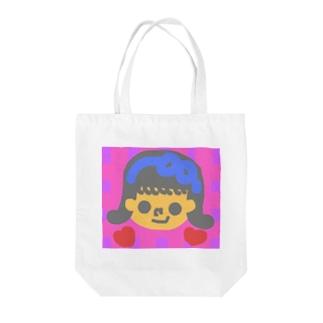 外ハネガール💫 Tote bags