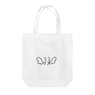 羽 - hane Tote bags