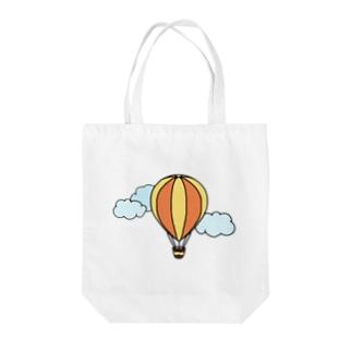 空飛ぶ乗り物/黄 Tote Bag