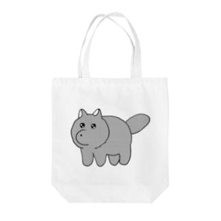 ゆうれい犬 Tote bags