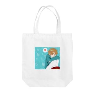 コイワズライ Tote bags