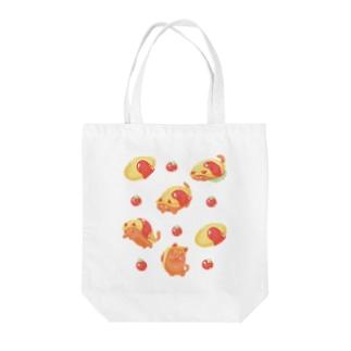 オムネコ Tote bags