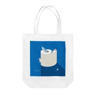 夜のSAME Paper Tote bags