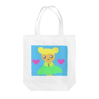お遊戯会で妖精役の子🧚♀️💫 Tote bags