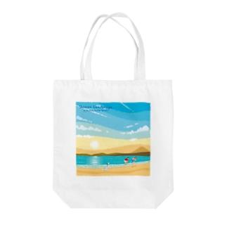 湘南ランドスケープ02:ひこうき雲 Tote bags