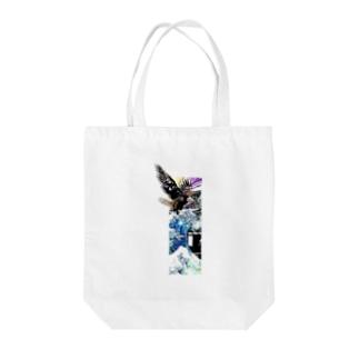 RMk→D (アールエムケード)のアクボクトウセン Tote bags