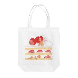 いちごショートケーキ Tote bags