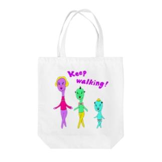 Keep walking! Tote bags