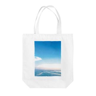 バリ わだつみの黄昏 Tote bags