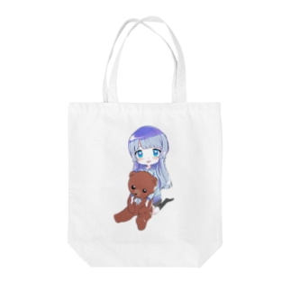 くまゆめヴァンパイア生誕トートバッグ Tote bags