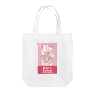 Hana Salon Tote bags