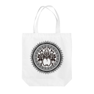 焔蝶曼荼羅 Tote bags