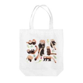 レッサーパンダ2021B Tote bags