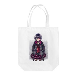 <dolls>見ツメル  Tote bags