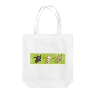 トラ猫五匹衆(アダルトチーム) Tote bags