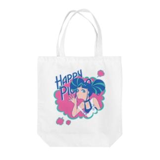 Happy ピカ子 Tote Bag