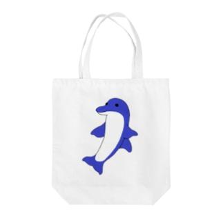胸ビレの進化したイルカ Tote bags