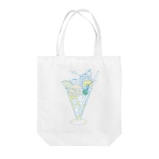 Shinjuku☆SODA Tote bags