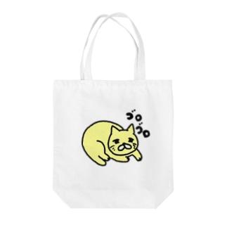 ねこゴロゴロ Tote bags