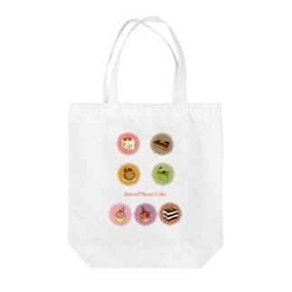 スイーツケーキⅡ Tote bags