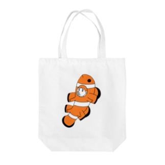 カクレブタノミ(縦) Tote bags