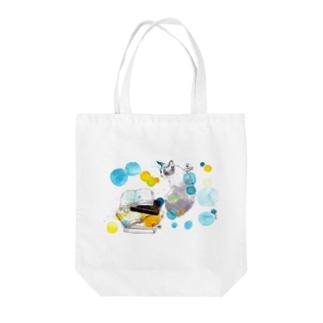 積ん読、お猫 Tote Bag