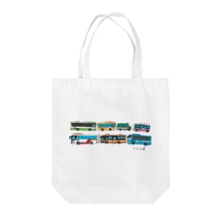 buses Tote Bag