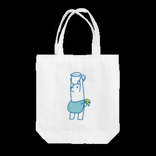 LINOS-Tのmilk Tote bags