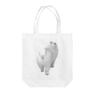 ポメおしり Tote bags