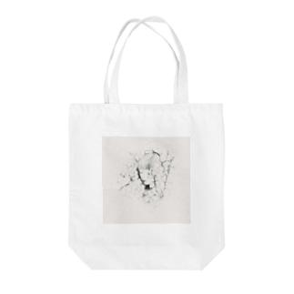 眠り〔sand〕 Tote bags