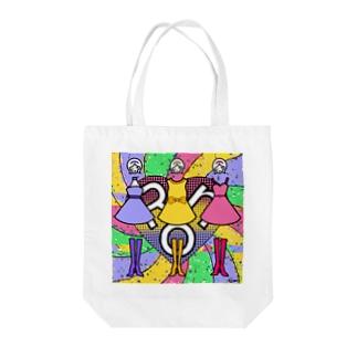 ミラクル三姉妹 Tote bags
