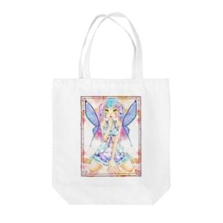 妖精ちゃん Tote bags